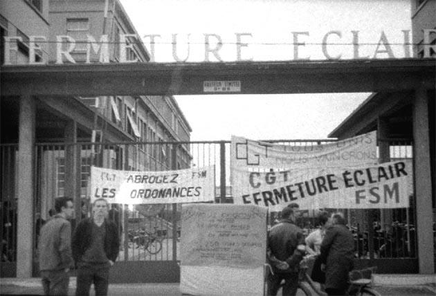 LA ZAD EN L'ÉTROIT TERRITOIRE - L'OUTRE-RÉEL IV.2 1968_Entree_Eclair