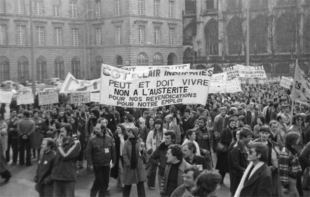 LA ZAD EN L'ÉTROIT TERRITOIRE - L'OUTRE-RÉEL IV.2 1982_Manifestation_Eclair_